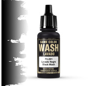 Vallejo Game Color Wash Black Shade - 17ml - 73201