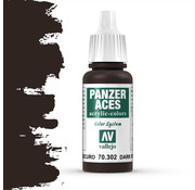 Vallejo Panzer Aces Dark Rust - 17ml - 70302