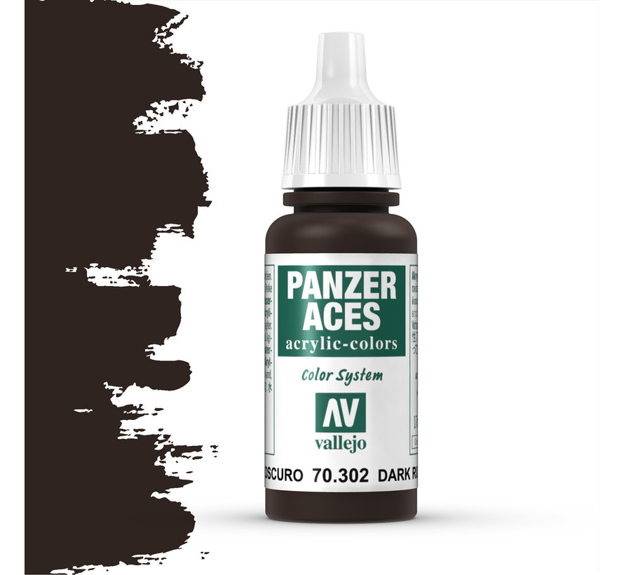 Panzer Aces Dark Rust - 17ml - 70302