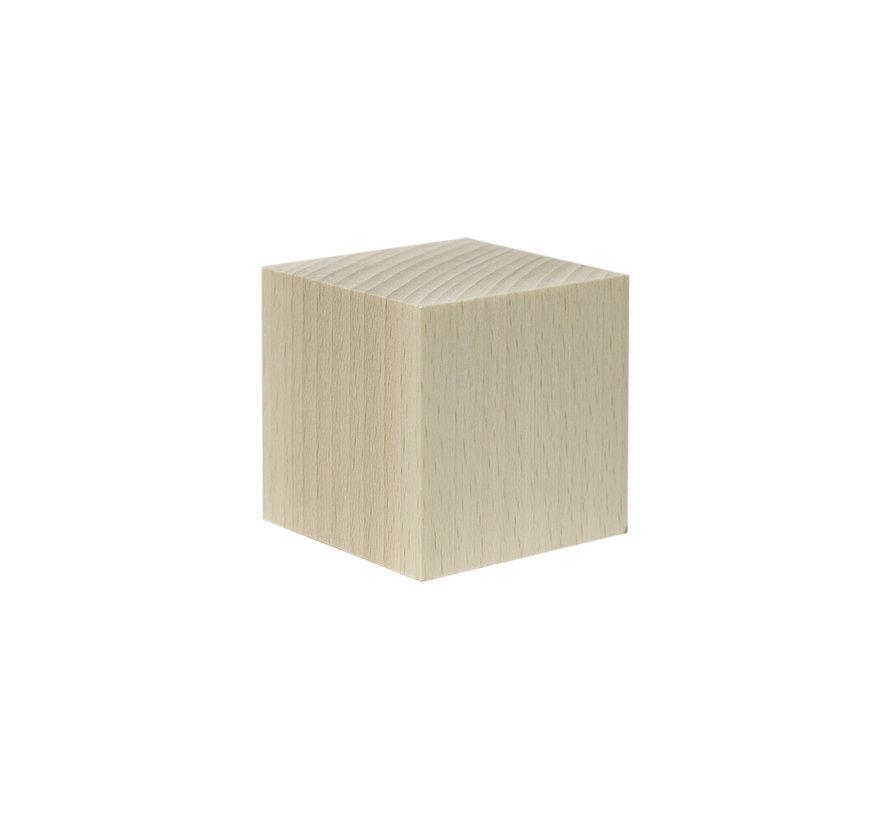 4cm x 4cm sokkel - 4x4cm-Cube-Raw