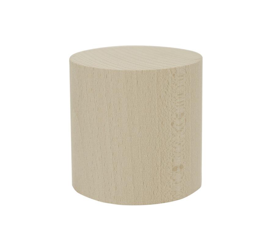 6x6cm sokkel cylinder - ZylinderBucheH/D60x60mm