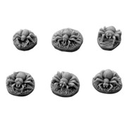 Mini Monsters Spiders - 6x - MM-0065