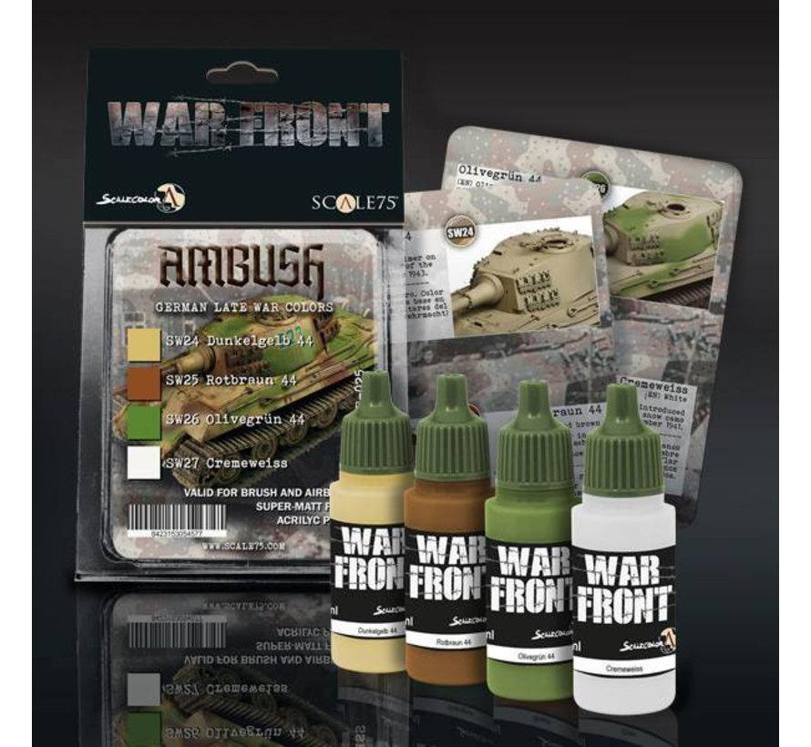 War Front Ambush - 4 kleuren - 17ml - SSE-025