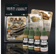 Scale 75 War Front D.A.K. - 4 kleuren - 17ml - SSE-026