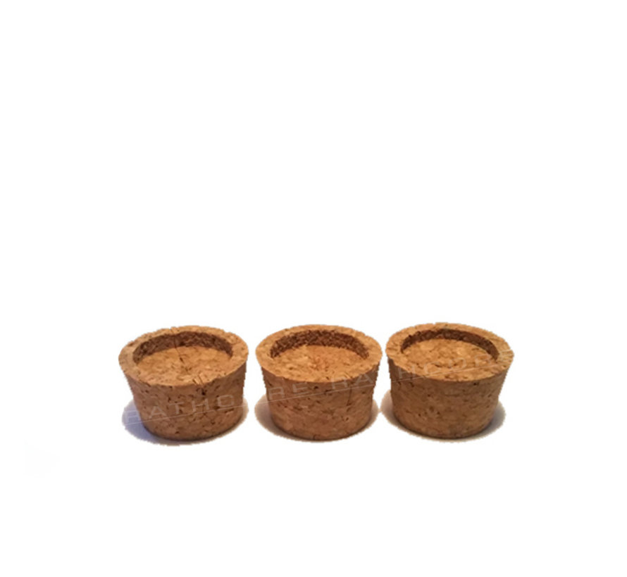 Cork Adapters S (3x) -  RC-302010