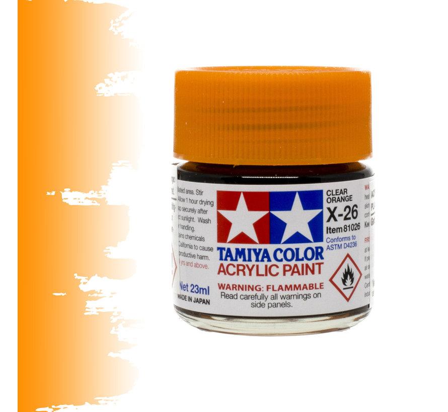 Clear Orange - X-26 - 23ml - TAM 81026