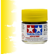 Tamiya Clear Yellow - X-24 - 23ml - TAM 81024