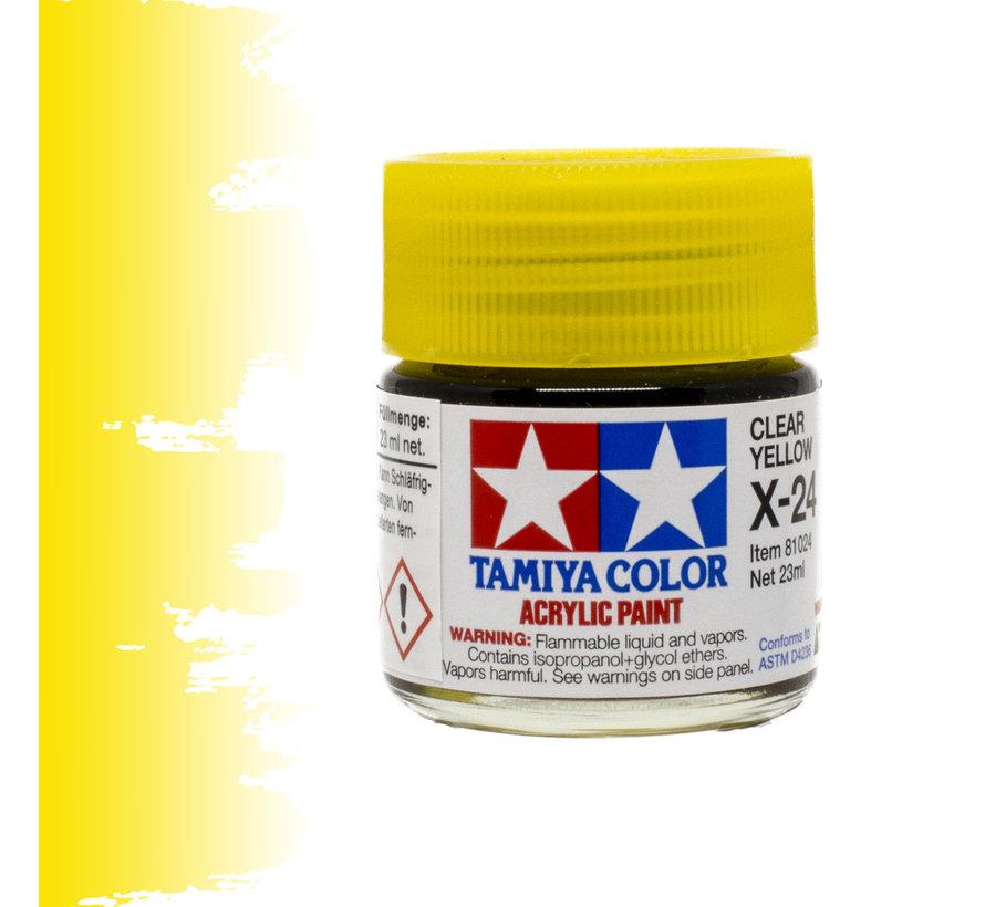Clear Yellow - X-24 - 23ml - TAM 81024