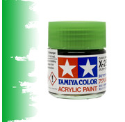 Tamiya Clear Green - X-25 - 23ml - TAM 81025