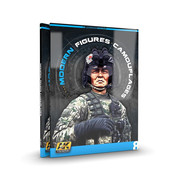AK interactive Modern Figures Camouflages - AK Learning Series nr 8 - Engels - 92pag - AK-247