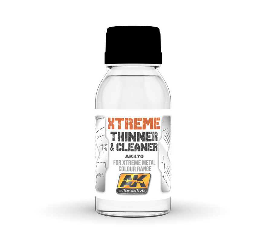 Xtreme Cleaner & Thinner - 100 ml - AK-470
