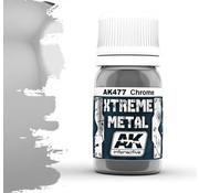 AK interactive Xtreme Metal Chrome - 30ml - AK477