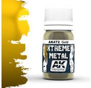 AK interactive Xtreme Metal Gold - 30ml - AK472