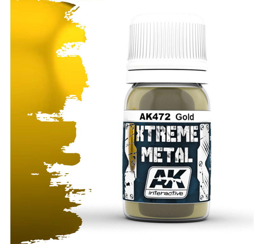 Xtreme Metal Gold - 30ml - AK472
