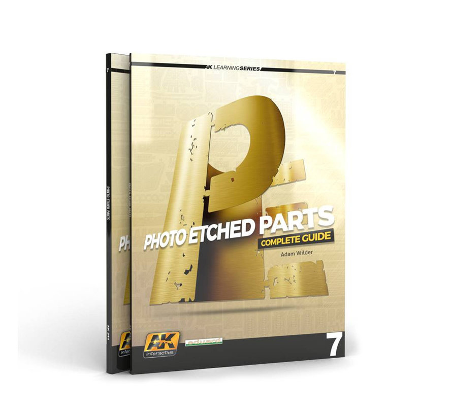 Photoetched Parts - AK Learning Series nr 7 - 88pag - AK-244