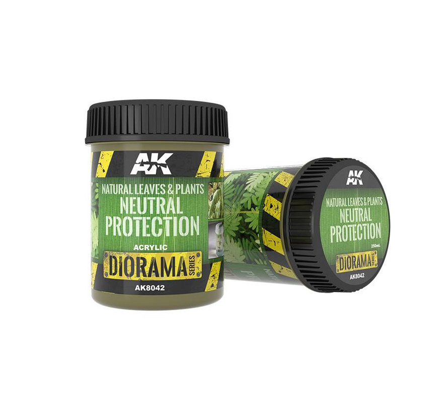 Natural Leaves & Plants Neutral Protection - Diorama Series - 250ml - AK-8042