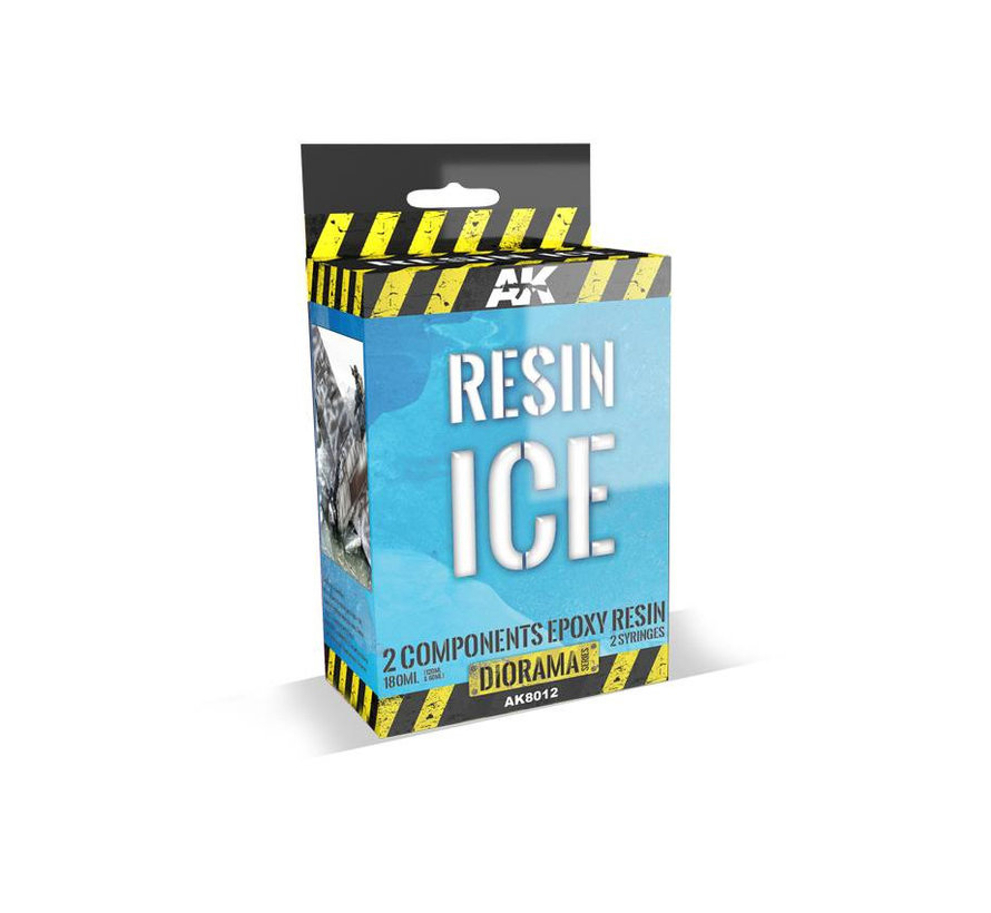 Resin Ice 2-Components Epoxy Resin - Diorama Series - 180ml - AK-8012