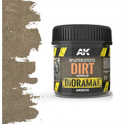 AK interactive Splatter Effects Dirt - Diorama Series - 100ml - AK-8035