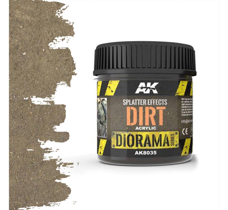 Splatter Effects Dirt - Diorama Series - 100ml - AK-8035