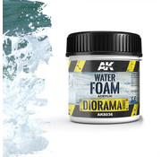 AK interactive Water Foam - Diorama Series - 100ml - AK-8036