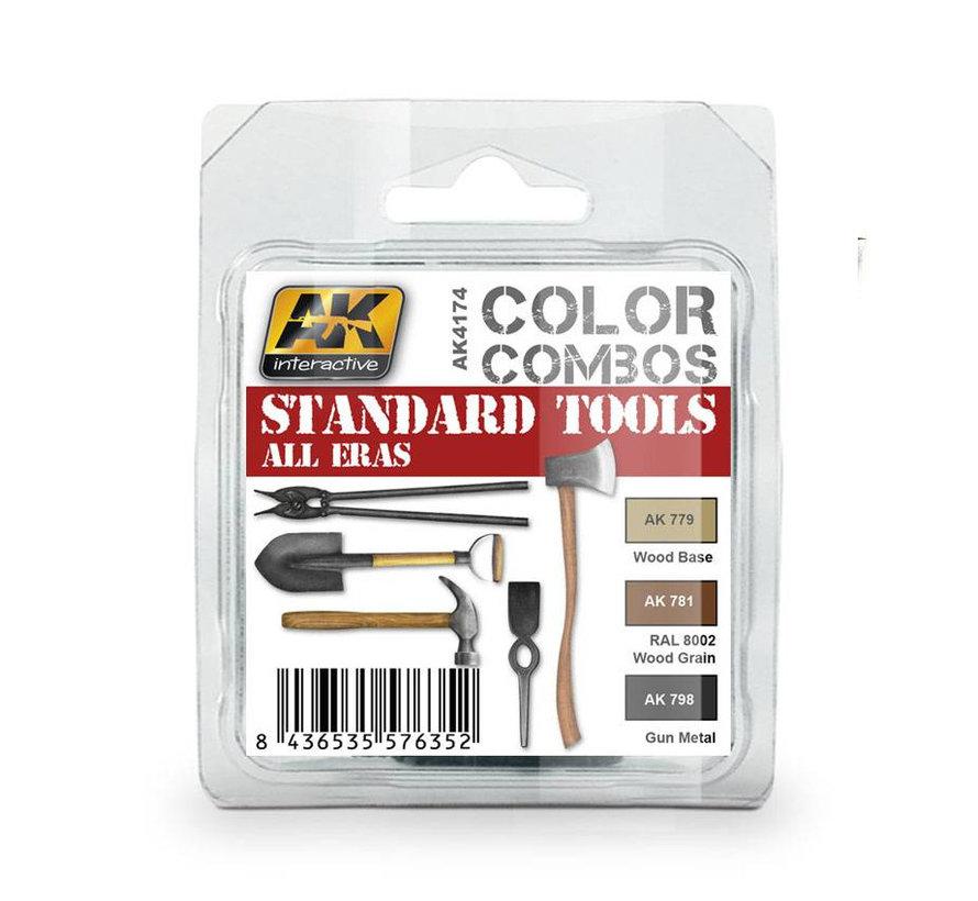 Standard Tools All Eras Color Combos - 3 colors - 17ml - AK-4174