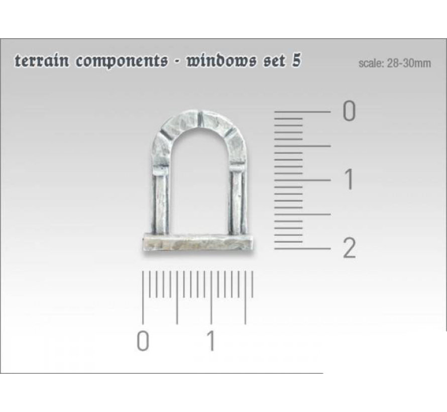 Terrain components - Windows set 5 - TTA800008