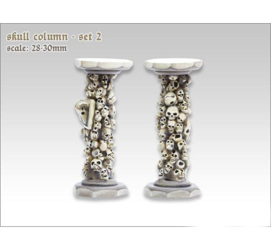 Skull Column set 2 - TTA600022