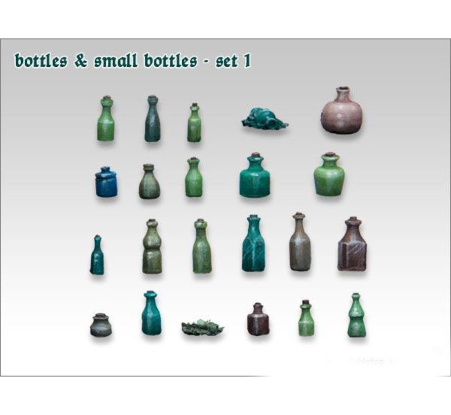 Bottles & Small Bottles 1 - TTA600003