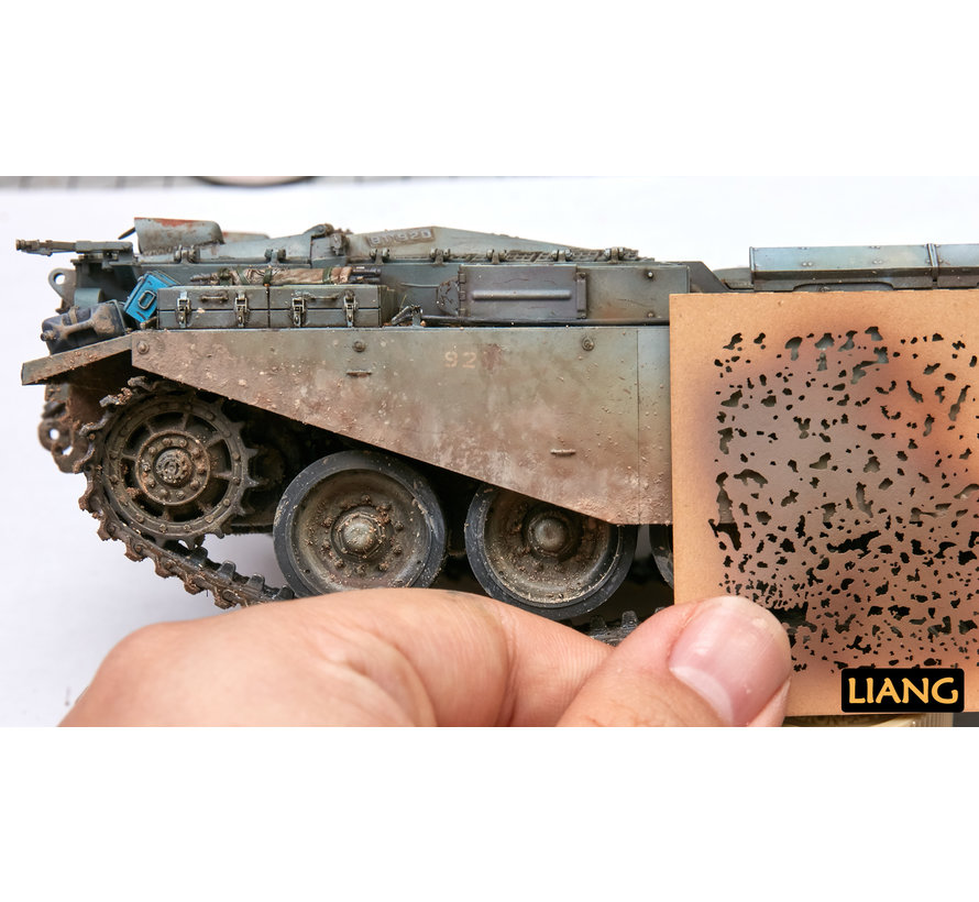 Weathering Airbrush Stencils - LIANG-0001