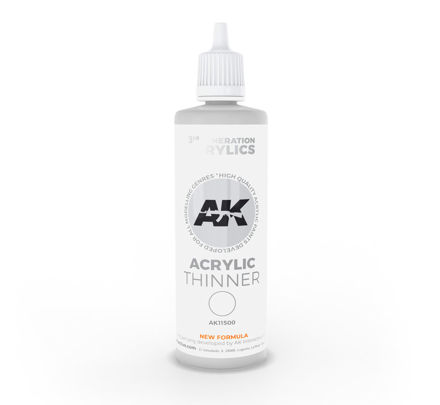 Acrylic Thinner 3rd generation - 100ml - AK11500