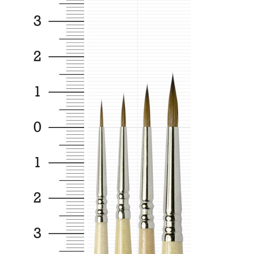 Brokentoad MK3 Miniature Series penselen Set - 4x - BT-MSB005