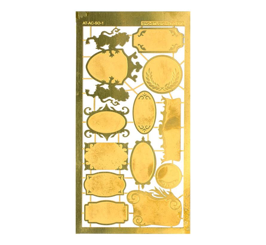 Ätztech Naamplaten 1 - Photo-Etch - AT-AC-SO-1