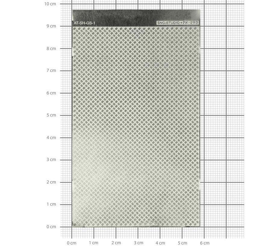 Ätztech Dubbele Traanplaat - Photo-Etch - AT-SH-GS-1