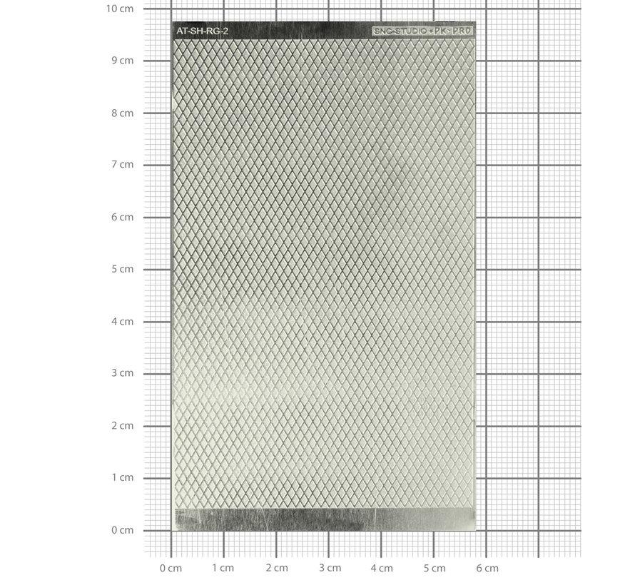 Ätztech Diamant Plaat Groot - Photo-Etch - AT-SH-RG-2