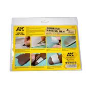 AK interactive Airbrushing Masking Film - 2x A4 - AK9045