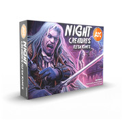 AK interactive Night Creatures Flesh Tones - 6 kleuren - 17ml - AK11602