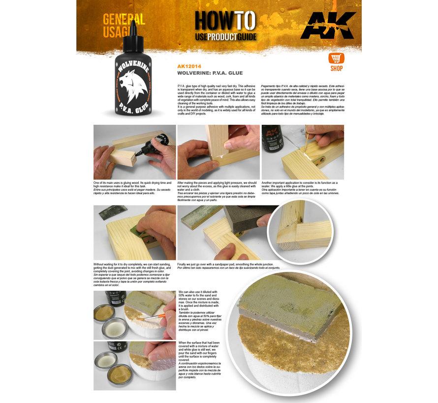 AK interactive Wolverine Pva Glue - 100ml