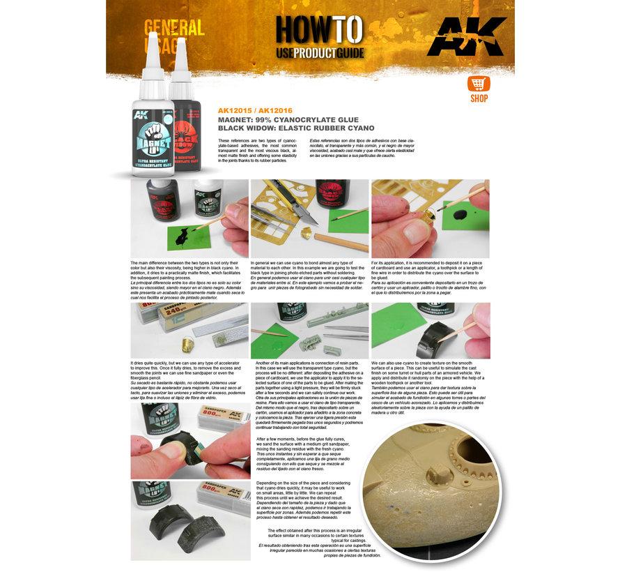 AK interactive Magnet Cyanocrylate Glue - 20g