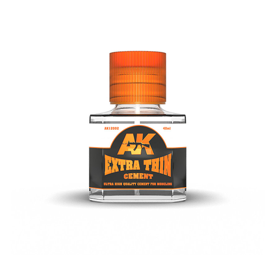 AK interactive Extra Thin Cement - 40ml