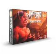 AK interactive Inferno And Red Creatures - 6 kleuren - 17ml - AK11604