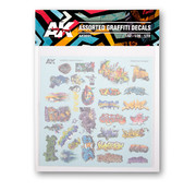 AK interactive Assorted Graffiti Decals - AK9091