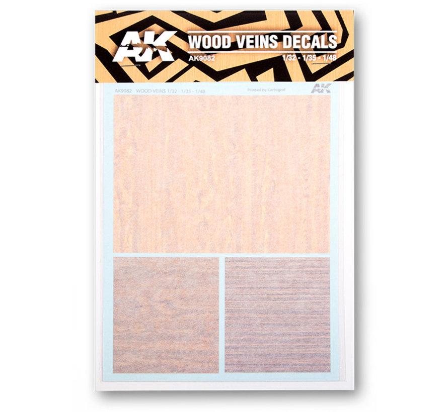AK interactive Wood Veins Decals