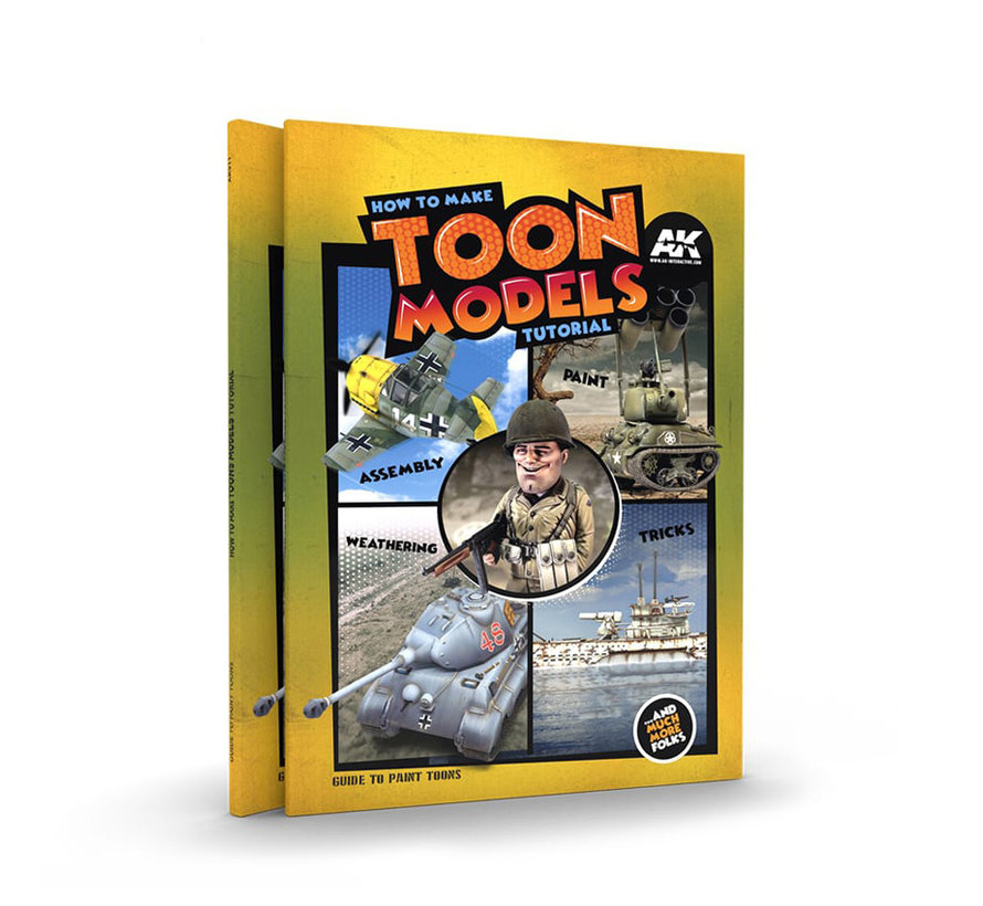 AK interactive How To Make Toon Models Tutorial - English - 156pag