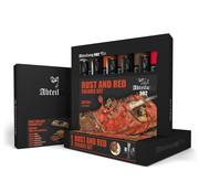 AK interactive Rust And Red Colors Set - 6 kleuren - 20ml - ABT304