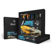 AK interactive Aircraft Effects Set - 6 kleuren - 20ml - ABT305