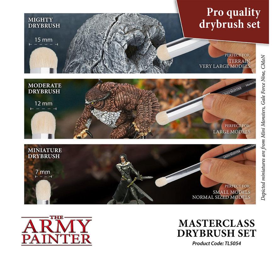 The Army Painter Masterclass Drybrush Set - 3x - TL5054