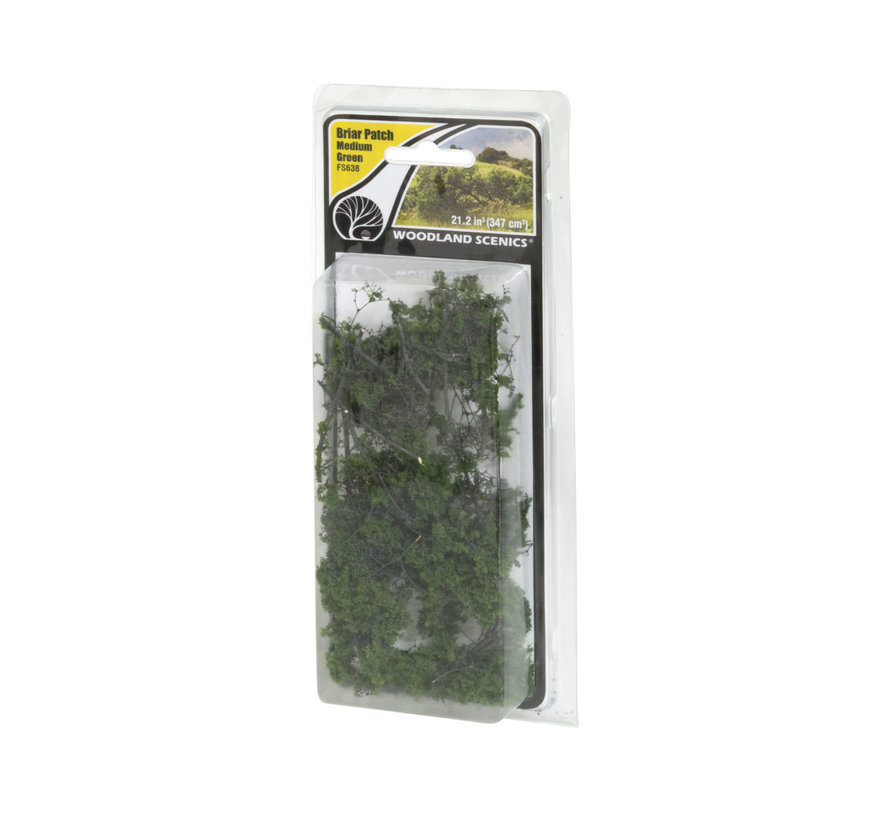Woodland Scenics Briar Patch Medium Groen - 347cm³ - FS638