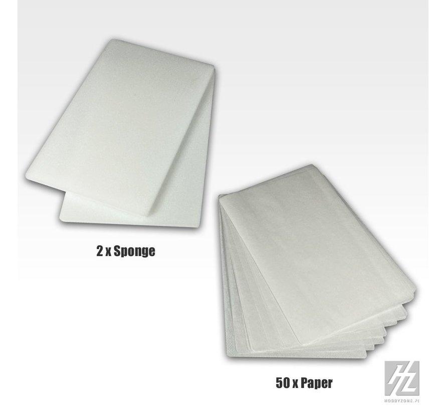 Hobbyzone Wet Palette Refill Kit - WP1k