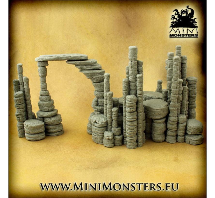 Mini Monsters Rocks - 20x - MM-0107