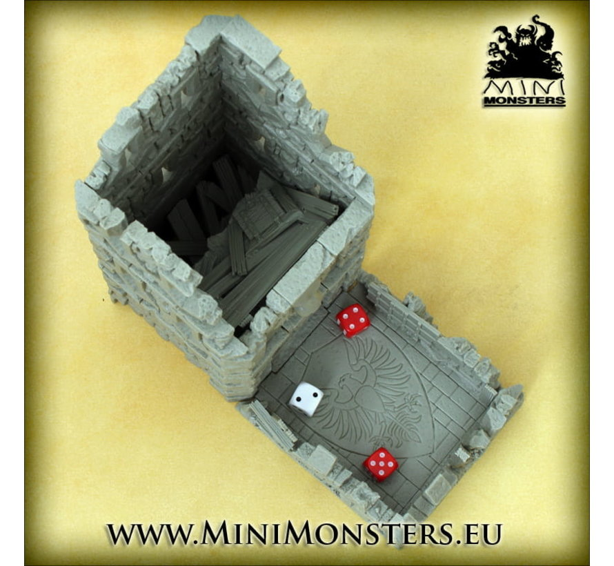 Mini Monsters Ruined Tower - Dice Tower - MM-0101